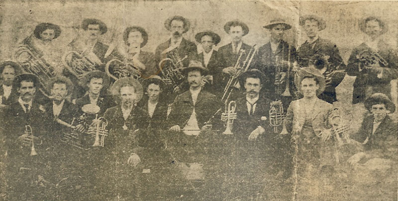 1902 - NERANG TOWN BAND - OUR PIONEERS