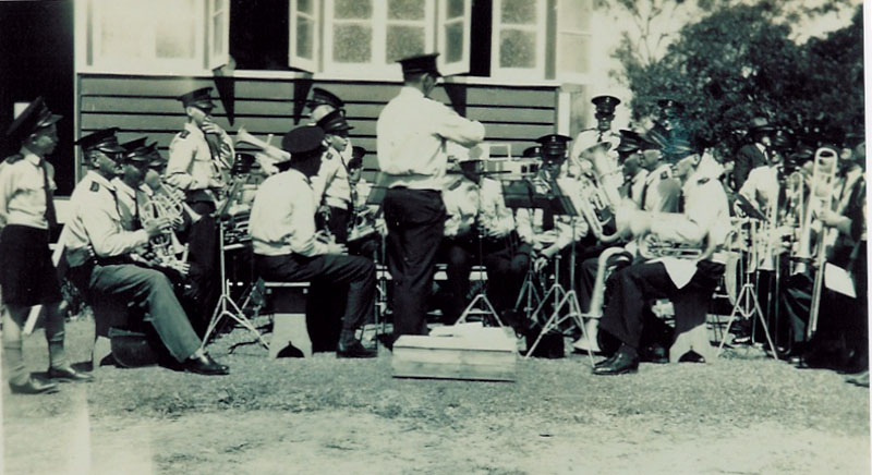 1949 - NERANG TOWN BAND AT RSL