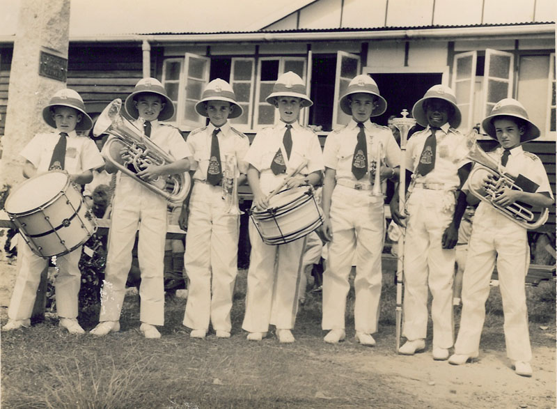 1951 - JUNIORS AT NERANG RSL