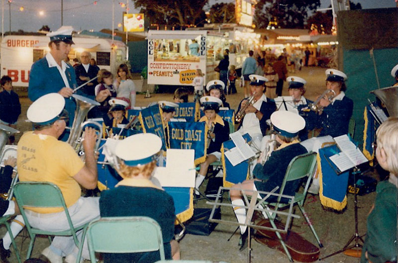 1982 - GOLD COAST SHOW - JUNIOR BAND