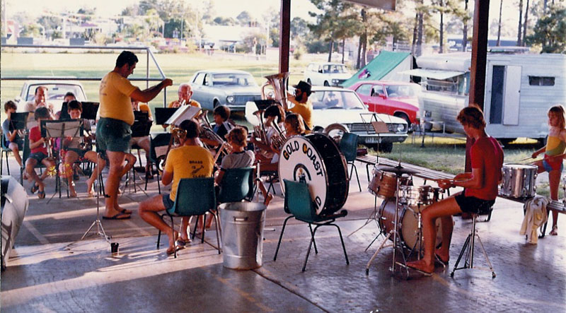 1982 - NERANG STATE SCHOOL - BAND CAMP