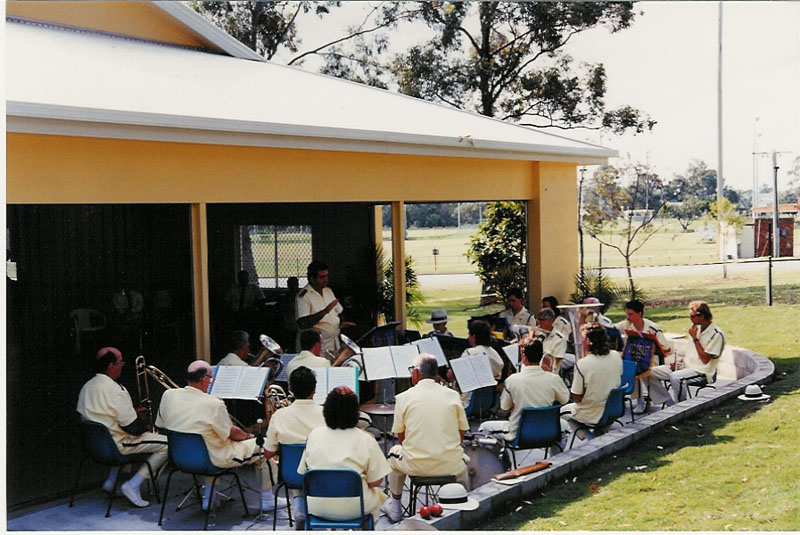 1995 - OPENING OF BAND HALL